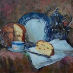 Still life with Panettone