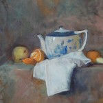 Teapot and Tangerine