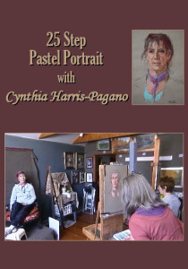 25 Step Pastel Portrait with Cynthia Harris-Pagano