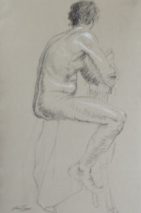 Back Seated Figure